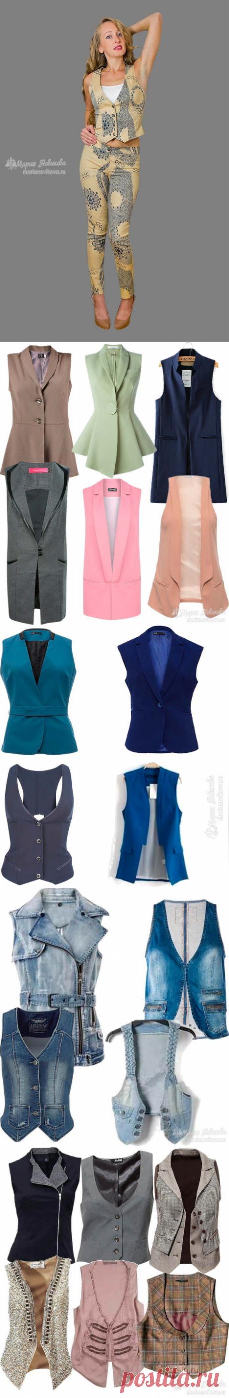 [ШИТЬЕ] Модная жилетка своими руками — сшить очень просто! Подробный мастер-класс