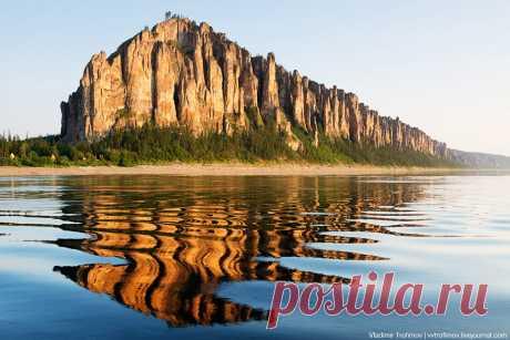 Ленские столбы природный парк в России