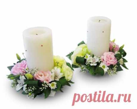 декор свечей цветами из фоамирана: 2 тыс изображений найдено в Яндекс.Картинках