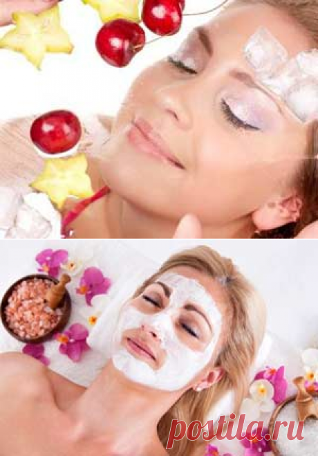 Рецепты омолаживающих масок для лица.-Лечение травами, рецепты народной медицины