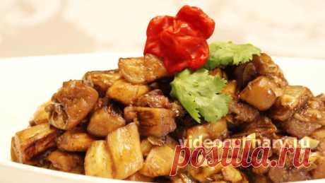 Адобо из баклажанов – Рецепт вкусной закуски от Бабушки Эммы