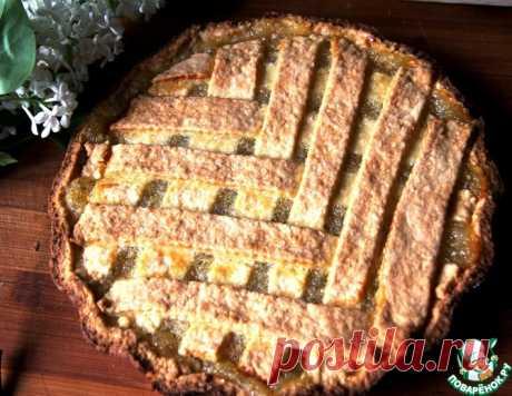Лимонный пирог песочный – кулинарный рецепт
