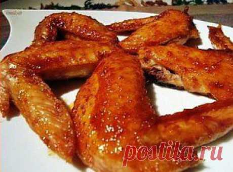Куриные крылышки в томате