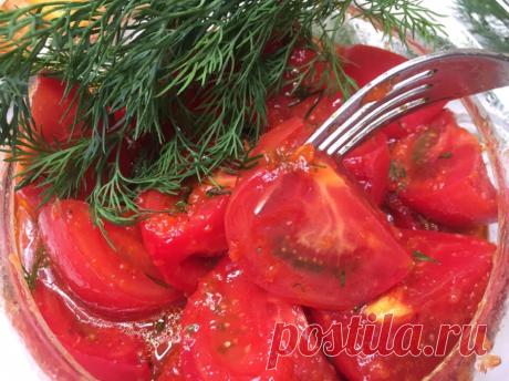 За такие закуски из помидор, муж готов меня расцеловать, неделю готовила, пока не наелся... | Вязание и Рукоделие | Яндекс Дзен