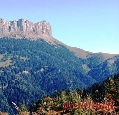 На горных склонах... В Адыгее - 7 Октября 2016 - Персональный сайт