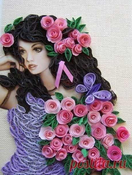 «Красивая картина девушки » — карточка пользователя Елена К. в Яндекс.Коллекциях