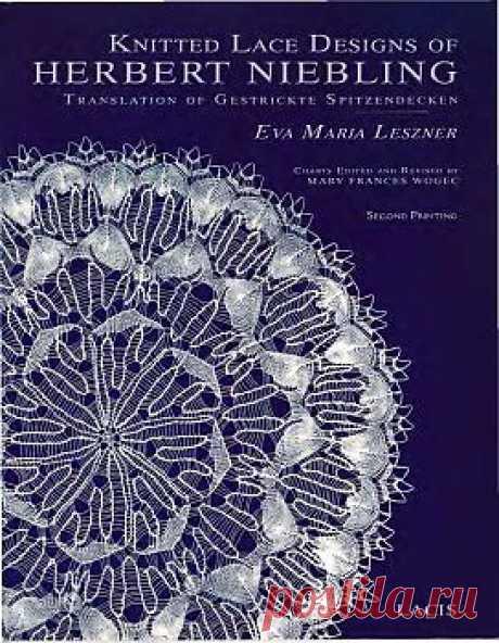 Knitted Lace Designs of Herbert Niebling Translation of Gestrickte Spitzendecken