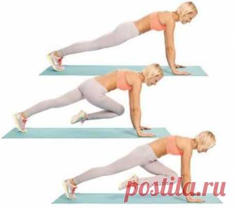 Упражнения для плоского живота для женщин — Красота и здоровье