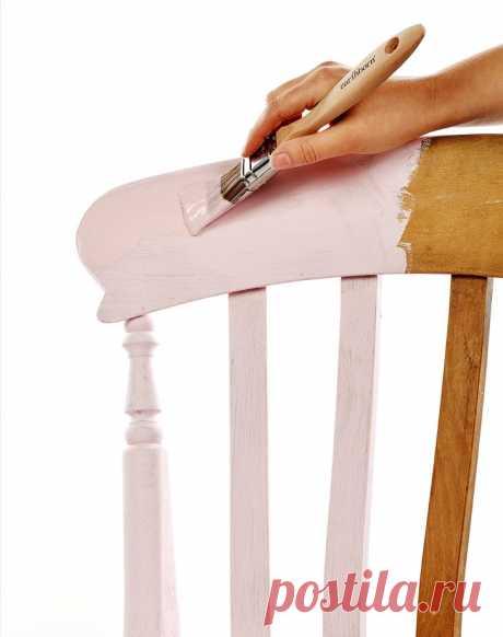 Важные этапы при окрашивании мебели / Домоседы