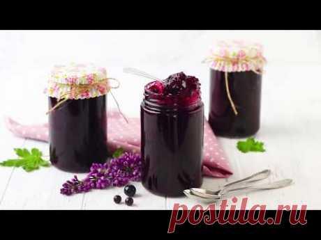 Рецепт конфитюра из красной и чёрной смородины