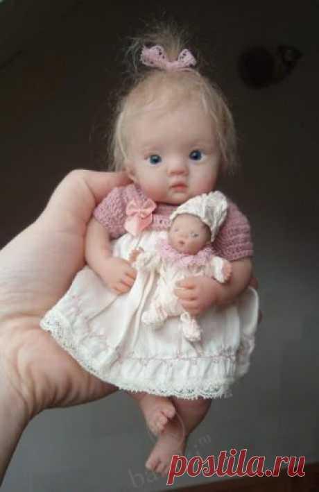 Авторские коллекционные куклы-младенцы Kim van de Wetering dolls