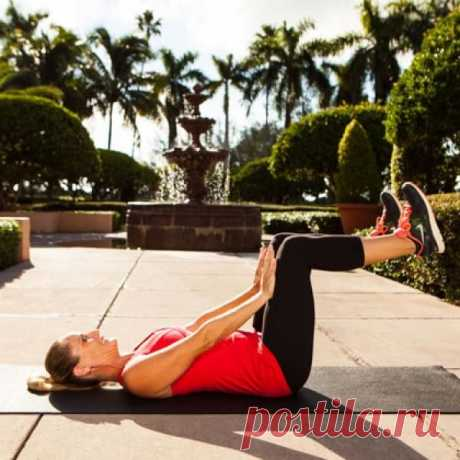Скажи «нет» обвисшему животу! 5 эффективных упражнений для красивого пресса.