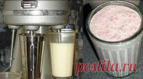 Как приготовить вкуснейший молочный коктейль по советскому рецепту   На каблуке   Яндекс Дзен