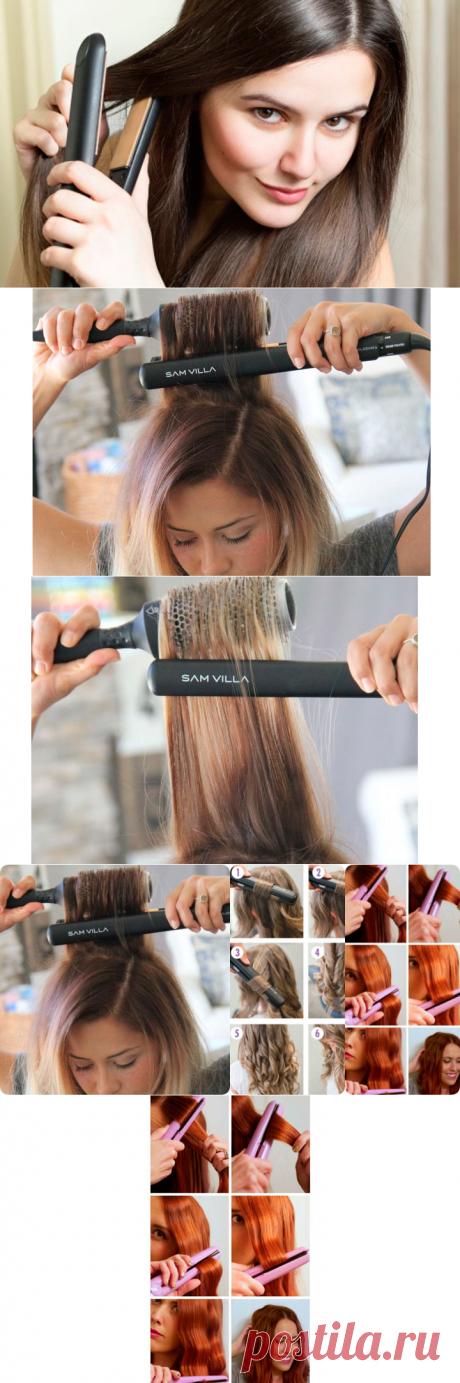 Ценные советы для тех, кто пользуется утюжком для волос - interesno.win