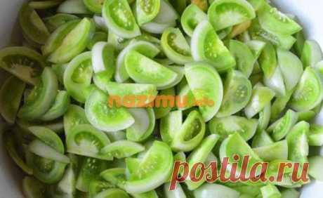 Салат из зеленых помидоров пальчики оближешь – рецепт пошагового приготовления с фото