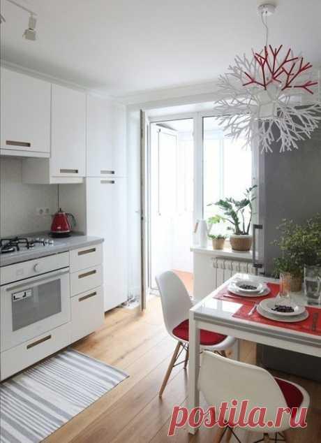 Проект однокомнатной квартиры 33 кв. м.