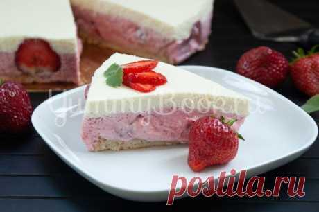 Муссовый торт с клубникой