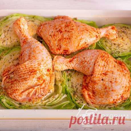 ШАЙБЫ из Капусты с Курицей в Духовке - пошаговый рецепт с фото на Готовим дома