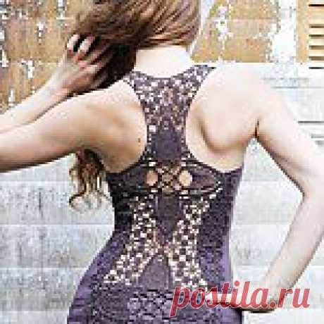 Top a hook with an openwork back a hook | it is excellent! School of fashion, decor and actual needlework