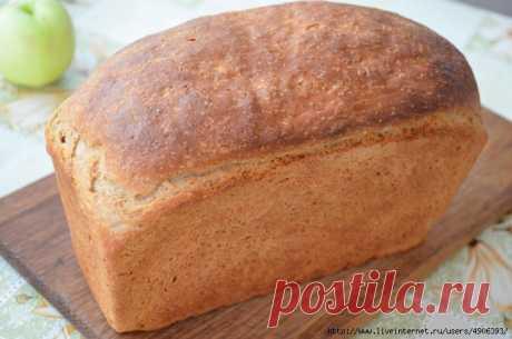 Хлеб пшенично-ржаной из духовки (домашний!)