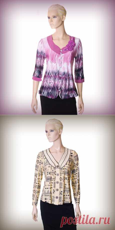 Блузы AllPose - оригинальные и удобные! ― Одежда для Вас