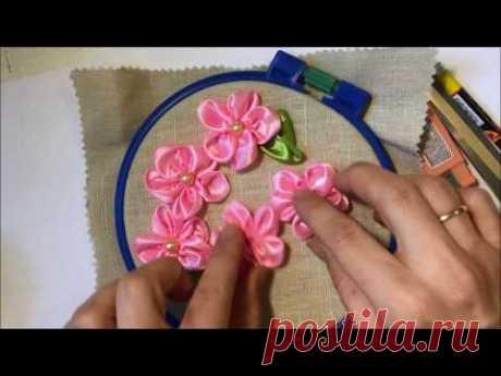 Flower from tape\/Flower ribbon