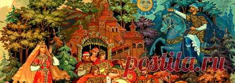 Русские народные росписи и ремёсла