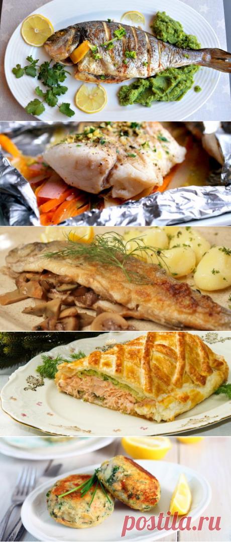 Рыба в духовке - очень вкусные рецепты блюд для любого стола - БУДЕТ ВКУСНО! - медиаплатформа МирТесен