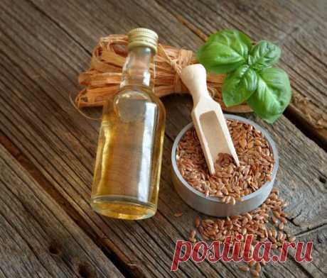 Как применять льняное масло от глубоких морщин лица и шеи