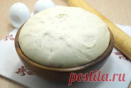 Постное тесто для пирогов
