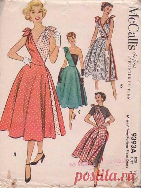 Платье-трансформер 50-х годов - мода возвращается! » Женский Мир
