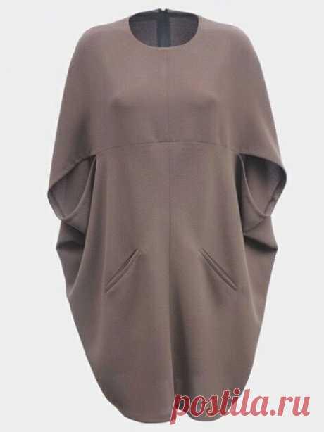 Платье-кокон по мотивам Gucci — Сделай сам, идеи для творчества - DIY Ideas