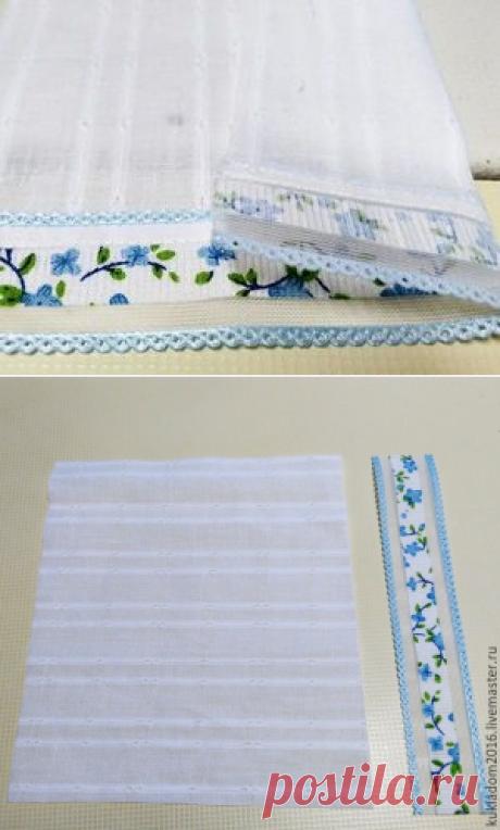 Украшаем наряды тильд кружевом с чистым краем - Ярмарка Мастеров - ручная работа, handmade