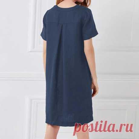 Платье «Джинса» – заказать на Ярмарке Мастеров – LL97QRU | Платья, Москва