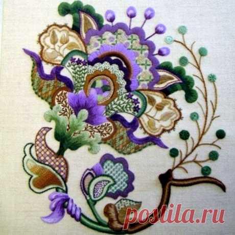 Роскошные идеи и шаблоны якобинской вышивки