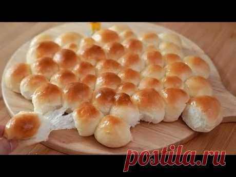Самый мягкий пузырчатый хлеб (Вы будете зависимы! Супер пушистый / без замеса)