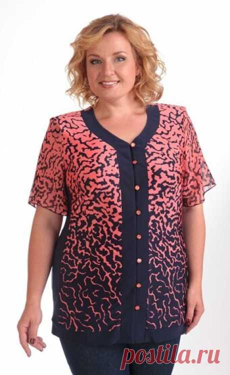 Красивые блузки для полных женщин. Выбираем и шьём | Вертолет на пенсии | Яндекс Дзен