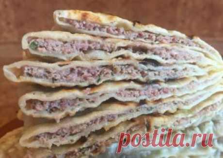 Кутабы с мясом Автор рецепта Лелькины Вкусняшки - Cookpad