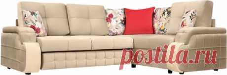 Угловые тканевые диваны - купить недорогой угловой тканевый диван по низкой цене от производителя в Москве в интернет-магазине HomeMe
