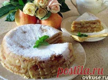 Яблочный торт - Простые рецепты Овкусе.ру