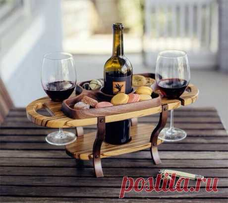 Еще одна идея для гаражного бизнеса. Мой проект винного столика из фанеры   Андрей Ухватов   Яндекс Дзен