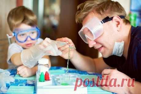 10 простых научных опытов с детьми - Поделки с детьми | Деткиподелки
