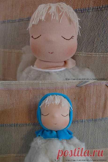Мягкая кукла-сплюшка.Шьем сами.