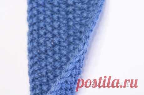 Планета Вязания | Ровный боковой край косичкой спицами. Фото и видео урок по вязанию.