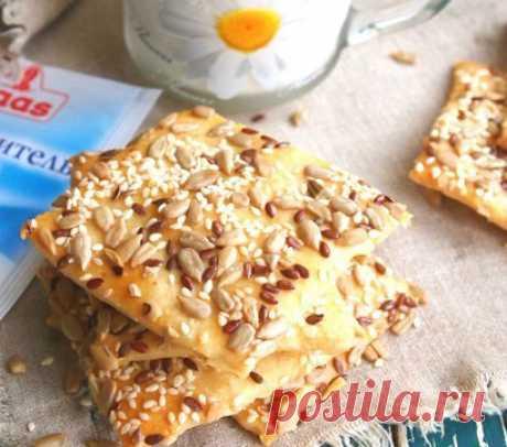 Домашнее галетное печенье с семечками - пошаговые рецепты с фото на povarenok.by