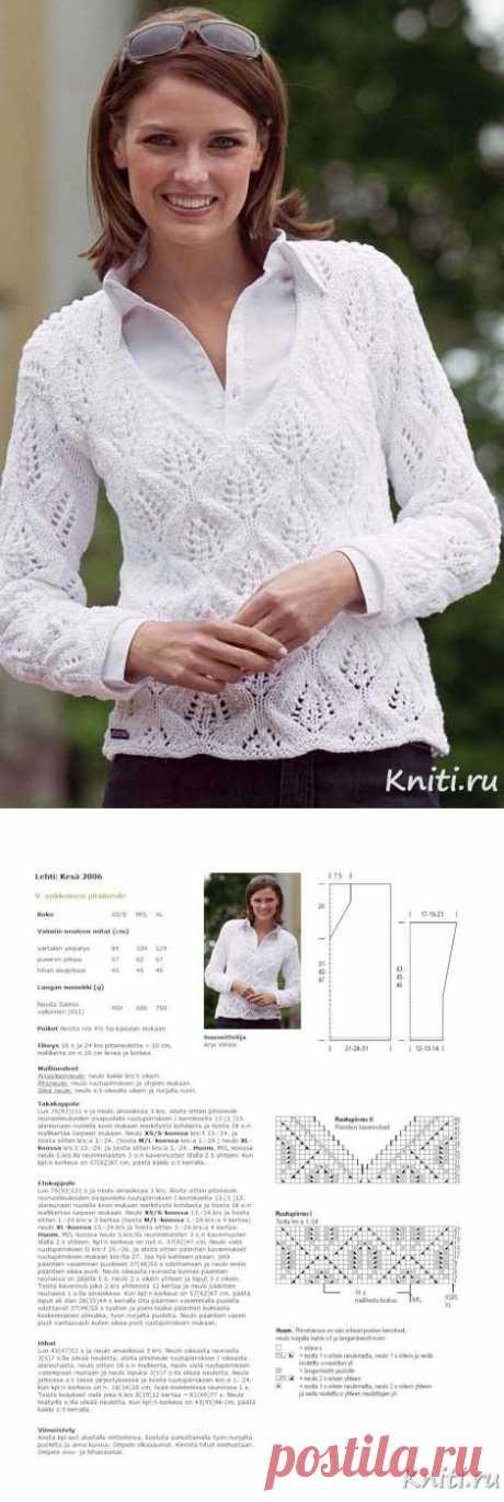 Замечательный пуловер – Мир вязания и рукоделия