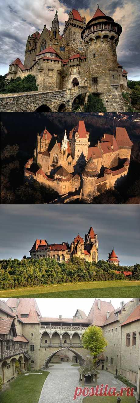 Замок Кройценштайн. Австрия | В мире интересного