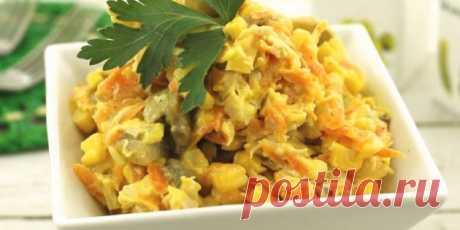 10 лучших салатов с кукурузой - Лайфхакер