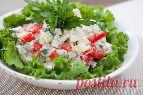 Салат по-гальски - Пошаговый рецепт с фото своими руками Салат по-гальски - Простой пошаговый рецепт приготовления в домашних условиях с фото. Салат по-гальски - Состав, калорийность и ингредиенти вкусного рецепта.