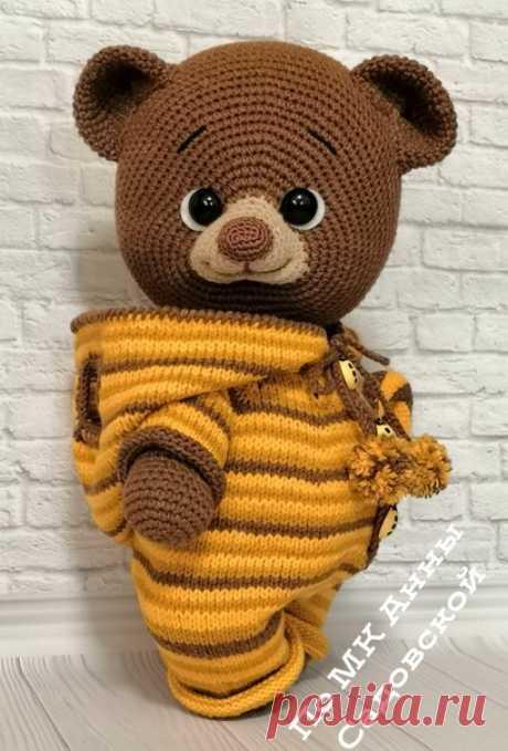 Мишка леденец. Медвежата. медвежонок. вязаная игрушка. Амигуруми #мишкаледенец #вязанаяигрушка #вязание #вязаниекрючком #вязаныймишка  #амигуруми #амигурумимишка #амигурумимедвежонок